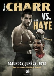 David Haye Haye vs. Charr Manuel Charr Boxing News British Boxing