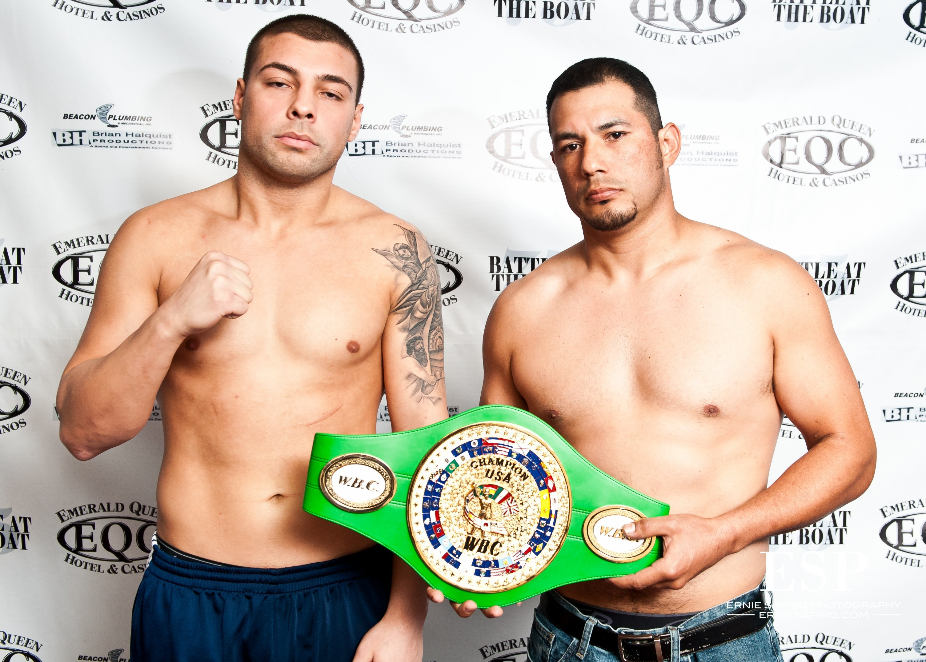 Weights from Tacoma: Stivens Bujaj 196.5 – Victor Barragan 192.5