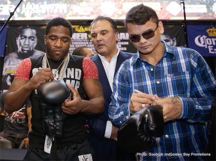 Adrien Broner Broner vs. Maidana Marcos Maidana Boxing Interviews Boxing News