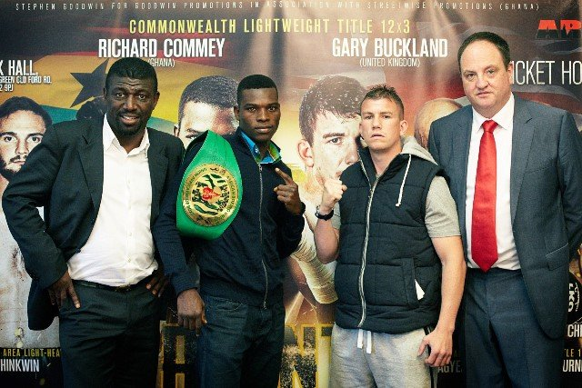 Commey ready to beat Buckland to Commonwealth Lightweight title