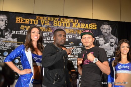 Andre Berto Berto vs. Soto-Karass Jesus Soto Karass Boxing News Top Stories Boxing
