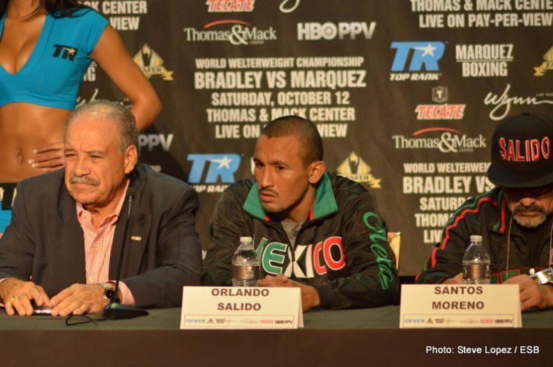 Bradley vs. Marquez Juan Manuel Marquez Tim Bradley Boxing News Top Stories Boxing