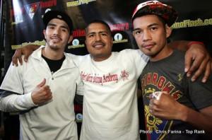 Floyd Mayweather Jr Marcos Maidana Robert Garcia Thomas Dulorme Boxing Interviews Boxing News Top Stories Boxing