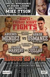 Arash Usmanee Argenis Mendez Boxing News