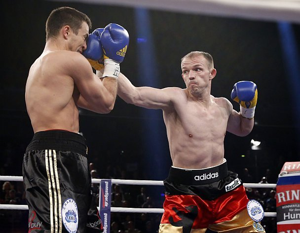 Eduard Gutknecht - Fighting a needless rematch, WBA (regular) light heavyweight champion Juergen Braehmer (48-2, 35 KOs) once again beat Eduard Gutknecht (29-4-1, 12 KOs) by a 12 round unanimous decision tonight in their rematch at the Jahnsportforum in Neubrandenburg, Germany. Just like their first fight three years ago, Braehmer was much too good for the slower, weaker and less skilled 33-year-old Gutknecht.