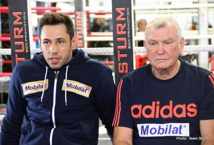Barker vs. Sturm Darren Barker Felix Sturm Boxing News