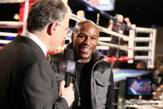 Khan vs. Mayweather - WBA/WBC welterweight champion Floyd Mayweather Jr (46-0, 26 KOs) says a fight between him and former IBF/WBA 140 pound champion Amir Khan (29-3, 19 KOs) can take place next year. In fact, Mayweather is hoping that a fight between them can take place in 2015, because he would like that. However, at the same time he wants his opponents to prove that they rate a fight against him by taking on quality opposition.
