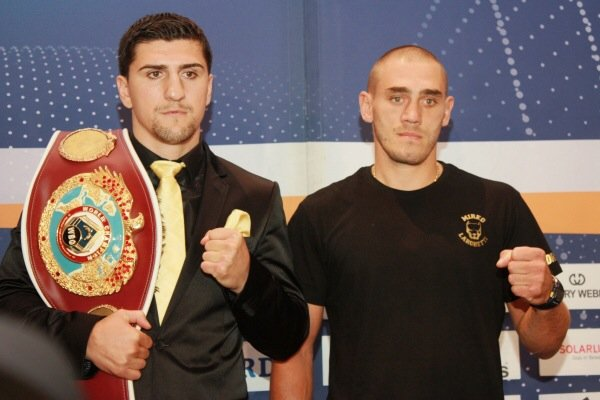 Huck and Larghetti come face-to-face ahead of WBO World Title Fight!