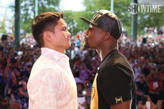 """Floyd Mayweather Jr, Marcos Maidana, Mayweather vs. Maidana 2 - In a move designed to enhance the viewing experience, SHOWTIME Sports®, Mayweather Promotions and Golden Boy Promotions have scheduled the """"MAYHEM: Mayweather vs. Maidana 2"""" pay-per-view event, headlined by the rematch between Floyd Mayweather and Marcos Maidana, to start at 8 p.m. ET/5 p.m. PT instead of the traditional 9 p.m. ET/6 p.m. PT.  The earlier start time is another innovative step SHOWTIME Sports is taking to improve the television viewer's experience for live boxing events.  Viewers in the Eastern and Central time zones, which make up nearly 80 percent of the U.S. population, won't have to stay up as late as usual in order to witness the conclusion of the event."""