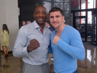 Marco Huck - Tomorrow night in Halle, Germany WBO World Cruiserweight Champion Marco Huck (37-2-1, 26 KOs) will attempt to equal Johnny Nelson's record for the most title defences in the cruiserweight division when he faces Mirko Larghetti (21-0, 13 KOs) at the Gerry Weber Stadium.