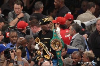 Floyd Mayweather Jr Julio Cesar Chavez Jr. Saul Alvarez Boxing News Top Stories Boxing