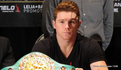 Alvarez vs. Trout Saul Alvarez Boxing Interviews Boxing News Top Stories Boxing