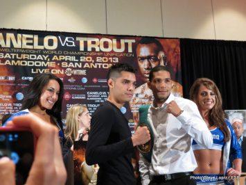 Austin Trout Canelo vs. Trout Saul Alvarez Boxing News Top Stories Boxing