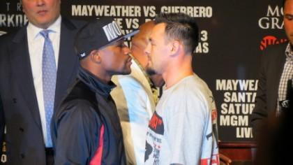 Mayweather vs. Guerrero Boxing News Top Stories Boxing