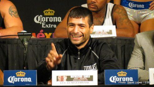Danny Garcia, Garcia vs. Matthysse, Lucas Matthysse - Boxing Interviews