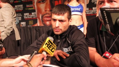 Danny Garcia Garcia vs. Matthysse Lucas Matthysse Boxing Interviews Boxing News Top Stories Boxing