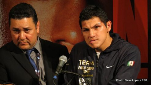 """Floyd Mayweather Jr, Garcia vs. Matthysse, Mayweather vs. Canelo, Saul """"Canelo"""" Alvarez - Boxing News"""