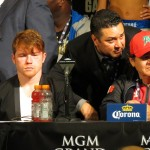 "Floyd Mayweather Jr Garcia vs. Matthysse Mayweather vs. Canelo Saul ""Canelo"" Alvarez Boxing News Top Stories Boxing"