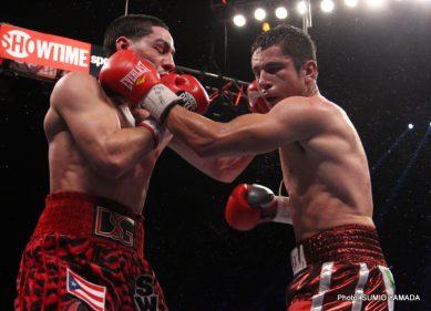 Garcia vs. Herrera Lopez vs. De Leon II Wilder vs. Scott Boxing News Boxing Results