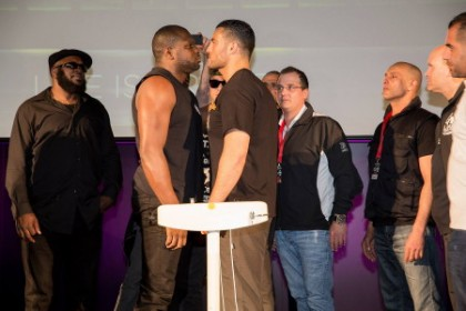 Manuel Charr and Kevin Johnson ready for war