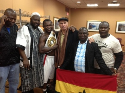 Emmanuel 'Ice Cold' Lartei Lartey Boxing News