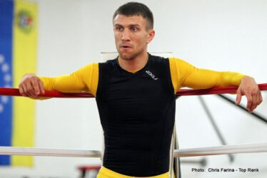 """Orlando Salido, Salido vs. Lomachenko, Vasyl Lomachenko - Two-time Ukrainian Olympic gold medalist and 2013 Prospect of the Year VASYL LOMACHENKO (1-0, 1 KO), is in a hurry to make his mark, and in only his second professional fight, he will be challenging three-time world featherweight champion ORLANDO """"Siri"""" SALIDO for Salido's World Boxing Organization (WBO) featherweight title.  The Salido-Lomachenko world championship fight will be televised live from the Alamodome, Saturday, March 1, on HBO World Championship Boxing, beginning at 9:45 p.m. ET/PT.  The telecast will also feature the eagerly-anticipated 12-round rematch between former World Boxing Council (WBC) middleweight champion and Son of the Legend JULIO CÉSAR CHÁVEZ JR. and Top-Five contender and two-fisted Texan BRYAN VERA."""