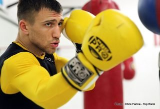 Vasyl Lomachenko - HBO Boxing lights up Broadway on the eve of New York's Puerto Rican Day Parade when HBO BOXING AFTER DARK: ROCKY MARTINEZ VS. VASYL LOMACHENKO AND FELIX VERDEJO VS. JUAN JOSE MARTINEZ is seen SATURDAY, JUNE 11 at 10:00 p.m. (live ET/tape-delayed PT) from The Theater at Madison Square Garden, exclusively on HBO. The HBO Sports team will be ringside for the event, which will be available in HDTV, closed-captioned for the hearing-impaired and presented in Spanish on HBO Latino.