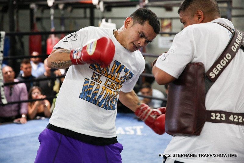 Mayweather vs. Maidana - Pound-for-pound king Floyd Mayweather is refusing to underestimate renowned knockout artist Marcos Maidana ahead of their megafight this weekend.