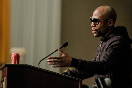 Mayweather unsure who he'll fight next in May 2015