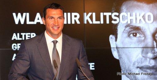 Pressekonferenz Wladimir Klitschko vs M. Wach