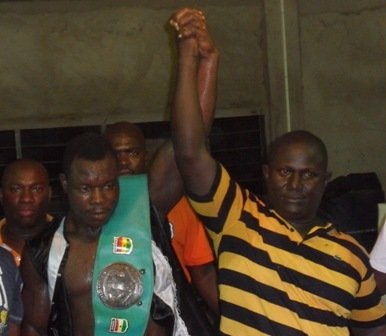 -  By Prince Dornu-Leiku - Emmanuel Omari Danso, the Ghana-based boxer known by the nickname Kwahu Tyson has realized the first of many ambitions after claiming the vacant Ghana Light Heavyweight championship with victory over David Okai.