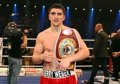 Marco Huck Ola Afolabi Boxing Interviews Boxing News British Boxing Top Stories Boxing