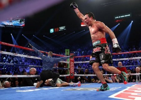 Juan Manuel Marquez Manny Pacquiao Pacquiao vs. Marquez 4 Boxing News Boxing Results Top Stories Boxing