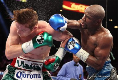 "Floyd Mayweather Jr, Mayweather vs. Canelo, Saul ""Canelo"" Alvarez - LAS VEGAS, NEV. (Sept. 14, 2013) -  The undisputed, pound-for-pound champion put on a clinic against Mexican sensation Canelo Alvarez, handing the 23-year-old superstar his first loss in the toughest test of his career Saturday on SHOWTIME PPV at the MGM Grand Garden Arena."