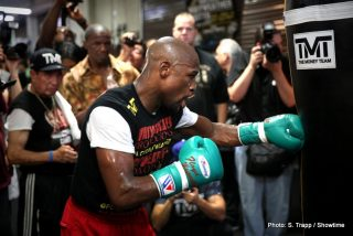 Floyd Mayweather Jr, Manny Pacquiao, Mayweather vs. Pacquiao - I recently read an article that quoted Manny Pacquiao's trainer, Freddie Roach, claiming that if the eagerly-awaited Mayweather-Pacquiao super-fight does happen, it could be as a career finale for both men.