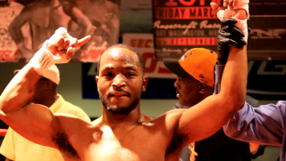 """Mike Reed - By Justin Jones & Paul """"Paparazzi"""" Jones: Washington, DC – Unbeaten light welterweight Mike """"Yes Indeed"""" Reed (13-0, 6 KOs) recorded his 13th consecutive victory on Saturday night's Keystone Boxing """"Capital City"""" Card at the Sphinx Club in DC by seeking and destroying Edgardo """"Eddie"""" Soto (12-9, 4 KOs), 38, in less than six minutes of work.  Reed recorded his third and final knockdown – two knockdowns in the first – 2:10 into round two before the referee called a halt to the bout."""
