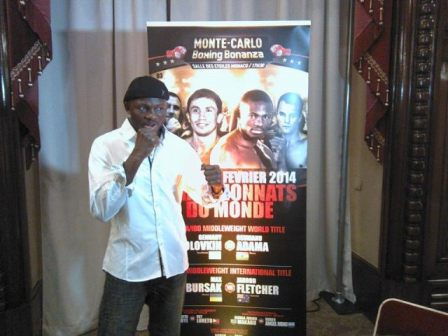 Osumanu Adama won't give up on world title dream