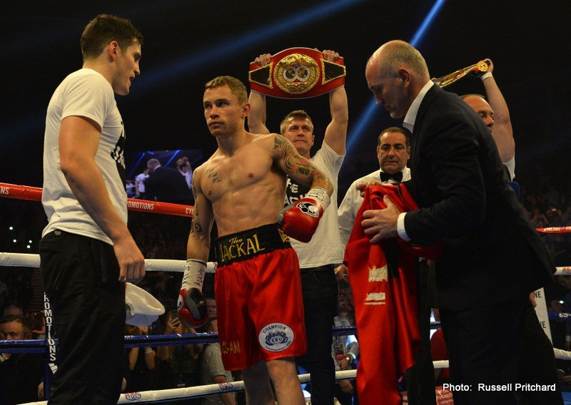 "Carl Frampton battles Alejandro ""Cobrita"" Gonzalez on July 18th"