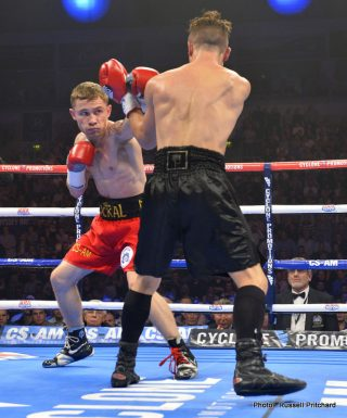 Carl Frampton - In a good piece of news for UK fight fans, Carl Frampton's 2nd defence of his IBF super bantamweight title against Mexico's Alejandro Gonzalez Jr - that is to take place in El Paso, Texas on July 18th - is to be screened on terrestrial television, with ITV confirming they are to broadcast the bout. It will be screened prime time, starting at 9:45 pm (BST)