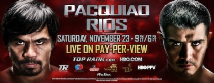 Brandon Rios Manny Pacquiao Boxing News