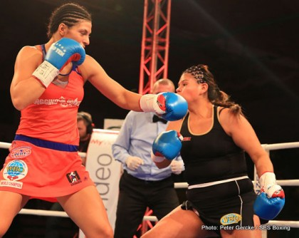 Christina Hammer Ramona Kuehne Boxing News Boxing Results