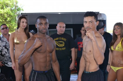 Rashad Ganaway versus Justo Vallecillo