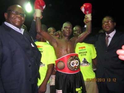 Richard Commey crowned IBF Africa Lightwieght champ
