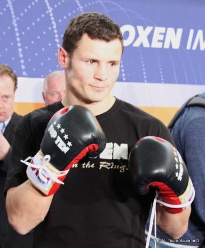 Robert Stieglitz Sergey Khomitsky Boxing News