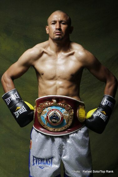 "Orlando Salido, Salido vs. Lomachenko, Vasyl Lomachenko -  For three-time world featherweight champion ORLANDO ""Siri"" SALIDO boxing has been about perseverance and overcoming the odds, and in 17 days his mettle will be tested once more as he puts his world title on the line against two-time Olympic gold medalist, VASYL LOMACHENKO (1-0, 1 KO), considered by many to be the best amateur boxer in the history of the sport. The Salido-Lomachenko WBO featherweight championship fight will be televised live from the Alamodome on Saturday, March 1, on HBO World Championship Boxing, beginning at 9:45 p.m. ET/PT.  The telecast will also feature the eagerly-anticipated 12-round rematch between former World Boxing Council (WBC) middleweight champion and Son of the Legend JULIO CÉSAR CHÁVEZ JR. and Top-Five contender and two-fisted Texan BRYAN VERA."