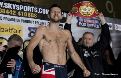 Carl Froch Mikkel Kessler Boxing News British Boxing