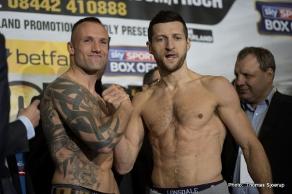 Carl Froch Froch vs. Kessler Mikkel Kessler Boxing News Top Stories Boxing