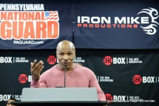 Rod Salka - MONROEVILLE, Pa. (April 17, 2014) – It turns out promoter Mike Tyson can stir the pot almost as much as heavyweight champ Mike Tyson.  Almost.