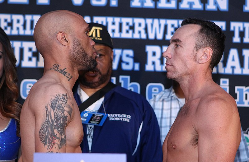 Photos: Ishe Smith vs. Ryan Weigh-In