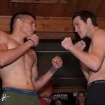 Steven Hall vs John Montes